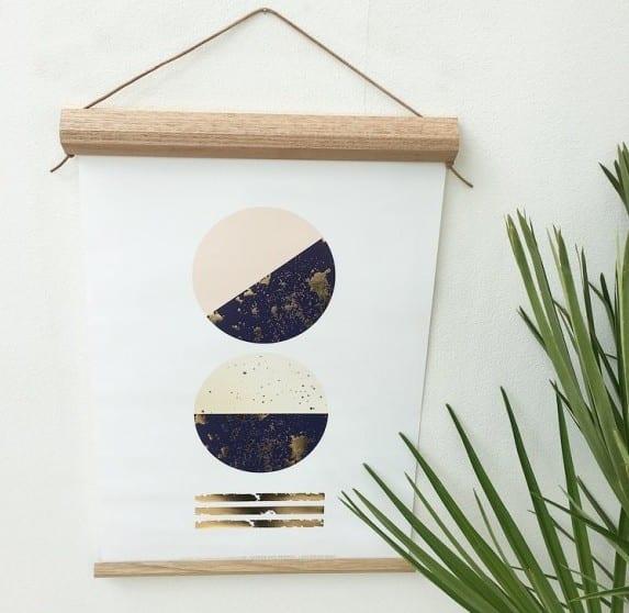 Populære Forny din vægge: Lav en træramme på 30 min. - Sabinas Verden VJ-25
